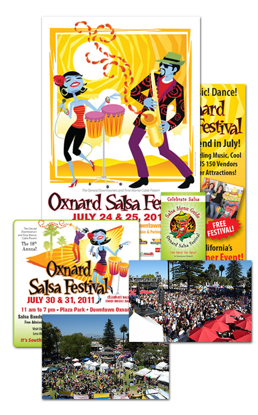 Ruth Ballin Marketing Oxnard Salsa Fest